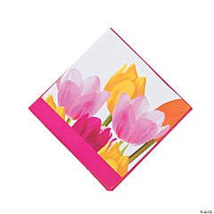 Tulip Time Beverage Napkins