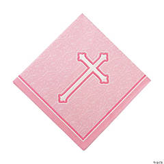 Pink Faith Luncheon Napkins