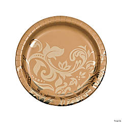 Golden Anniversary Dinner Plates