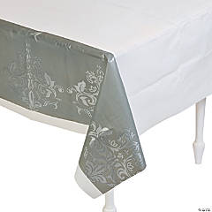 Silver Anniversary Tablecloth