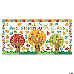 Fall into School Bulletin Board Set