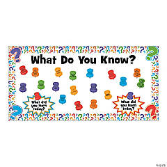 What Do You Know Bulletin Board Set