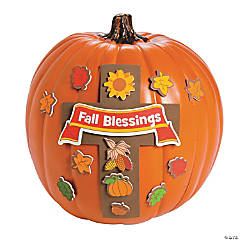 Fall Blessings Pumpkin Decorating Craft Kit