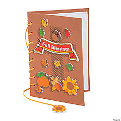 Fall Blessings Prayer Journal Craft Kit
