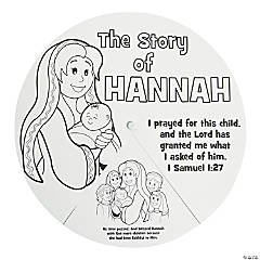 Color Your Own Story of Hannah Wheels