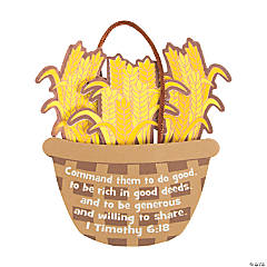 Ruth's Wheat Basket Ornament Craft Kit