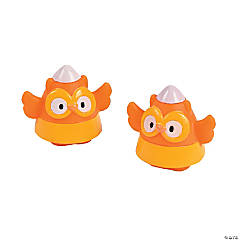 Candy Corn Owl Characters