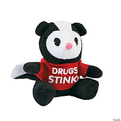 Drug Free Stuffed Skunks