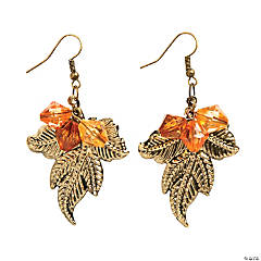 Leaf Earrings Craft Kit