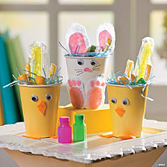 Bunny & Chick Treat Cups Idea