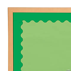 Scalloped Green Bulletin Board Borders