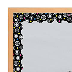 Black & White Bulletin Board Borders