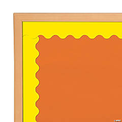 Yellow Scalloped Bulletin Board Borders