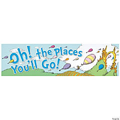 Paper Dr. Seuss™ Oh, the Places You'll Go Banner
