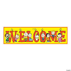Peanuts™ Welcome Banner
