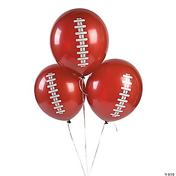 Latex Football Balloons
