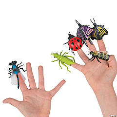 Vinyl Insect Finger Puppets