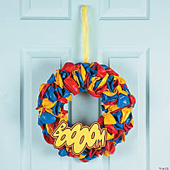 Superhero Wreath Idea