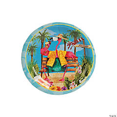 Flamingo Fun Dessert Plates