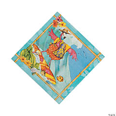 Flamingo Fun Luncheon Napkins