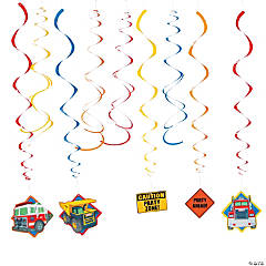 Tonka Hanging Swirl Decorations Value Pack