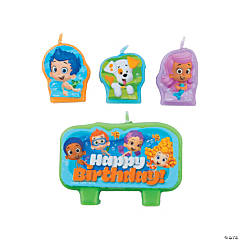 Wax Bubble Guppies™ Birthday Candles
