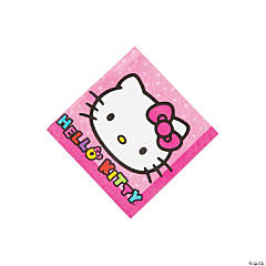 Paper Hello Kitty® Rainbow Beverage Napkins