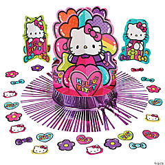 Paper Hello Kitty Rainbow Table Decorating Kit