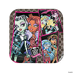 Monster High Dinner Plates