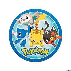 Pikachu & Friends Dinner Plates