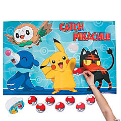 Pikachu & Friends Party Game