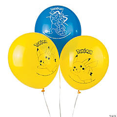 Latex Pikachu & Friends Balloons