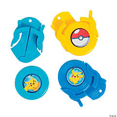 Plastic Pikachu & Friends Disc Shooters