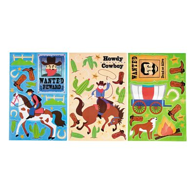 quickview image of cowboy wall clings with sku13709526