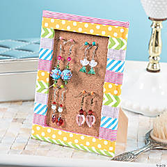DIY Jewelry Display Frame Idea