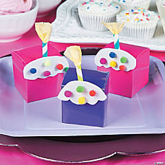 1st Cupcake Treat Boxes Idea