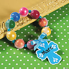 Gumball Rosary Easter Craft Idea