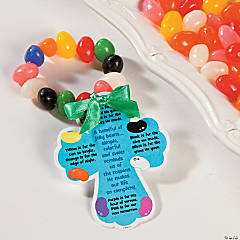 Colors of Faith Jelly Bean Bracelet Idea
