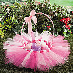 Tulle Easter Basket Idea