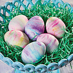 Marbled Easter Eggs Idea