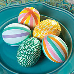 Washi Tape Easter Eggs Idea