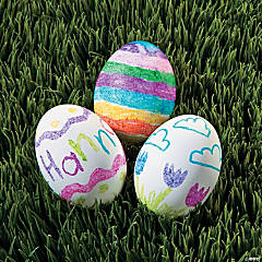 Melted Crayon Eggs Idea