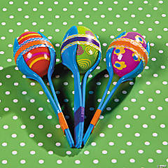 Plastic Egg Maracas Idea