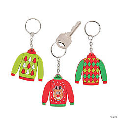 Ugly Sweater Keychains