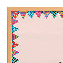 Poppin' Patterns™ Pennant Border