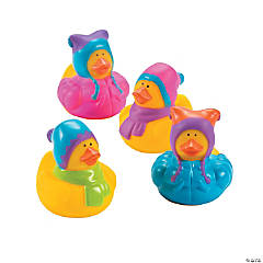 Winter Rubber Duckies