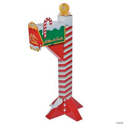 Santas Mailbox Cardboard Stand Up