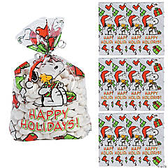 Peanuts® Christmas Cellophane Bags
