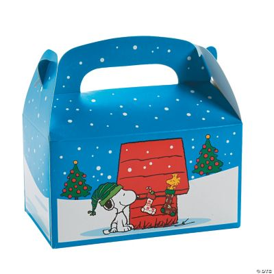 Peanuts? Christmas Treat Boxes