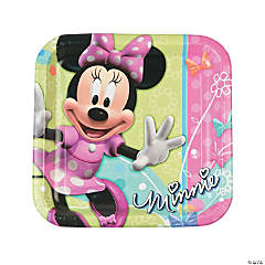 Minnie Bowtique Dinner Plates